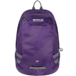 Regatta - Purple brize 20 litre back pack