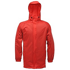 Regatta - Red Packaway waterproof jacket