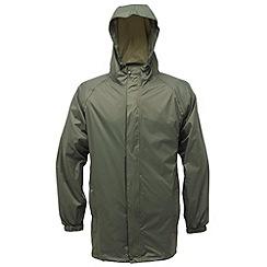 Regatta - Grey Packaway waterproof jacket