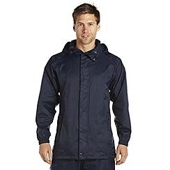 Regatta - Navy Packaway waterproof jacket