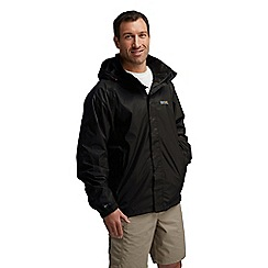 Regatta - Black magnitude iii waterproof jacket