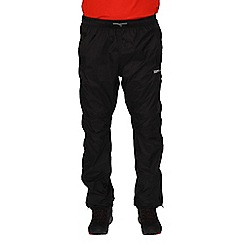 Regatta - Black Active packaway overtrouser