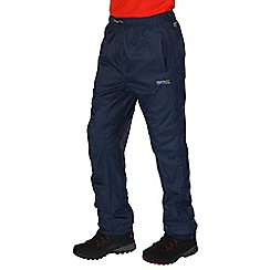 Regatta - Navy Active packaway overtrouser