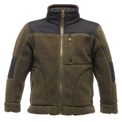 Regatta - Dark khaki boys volt fleece