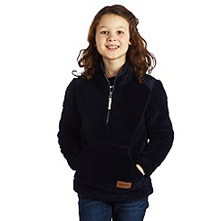 Regatta - Navy fuzzy fleece