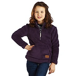Regatta - Plum wine fuzzy fleece