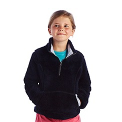 Regatta - Navy girls blossom fleece