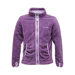 Regatta - Purple heart elliemae girls full zip fleece