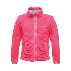 Regatta - Pink elliemae girls full zip fleece