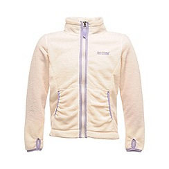 Regatta - Polar bear white elliemae girls full zip fleece