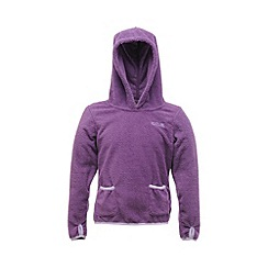 Regatta - Purple heart girls gopher zip fleece