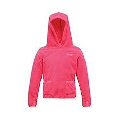 Regatta - Jem pink girls gopher zip fleece
