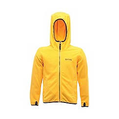 Regatta - Old gold boys frollo full zip fleece
