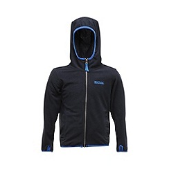 Regatta - Navy boys frollo full zip fleece