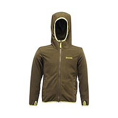 Regatta - Green grape leaf boys frollo full zip fleece