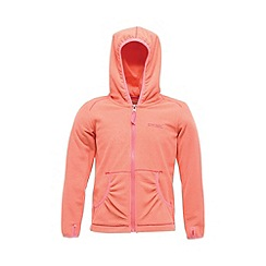 Regatta - Peach girls bentina full zip fleece