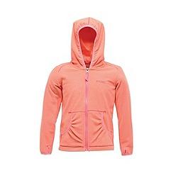 Regatta - Peach girls bentina full zip fleece