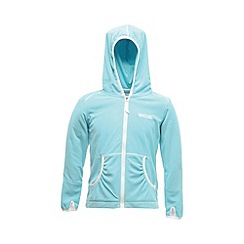 Regatta - Aqua girls bentina full zip fleece