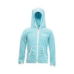 Regatta - Aqua girls bentina full zip fleece