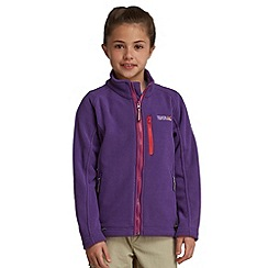 Regatta - Alpinepurple kids marlin unisex fleece