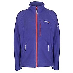 Regatta - Girls Blue kids marlin unisex fleece