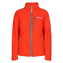 Regatta - Girls Orange kids marlin unisex fleece