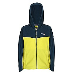 Regatta - Boys Neonsp/blwng marty zip-up hodded fleece