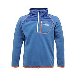 Regatta - Oxford blue kids breaktrail half zip fleece