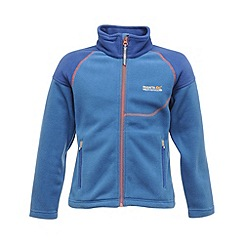 Regatta - Oxford blue kids breaktrail full zip fleece
