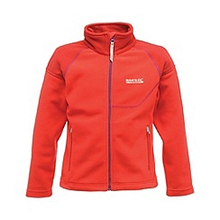 Regatta - Pink kids breaktrail full zip fleece