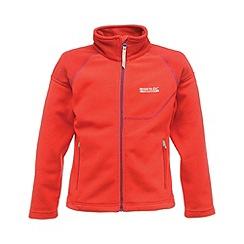 Regatta - Pink kids breaktrail full zip fleece