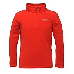 Regatta - Red kids unisex lifetime fleece