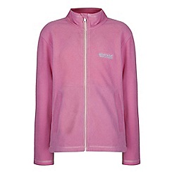 Regatta - Girls Pretty pink kids king full zip fleece