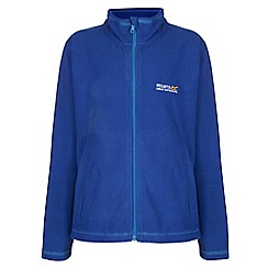 Regatta - Boys Bright blue kids king full zip fleece