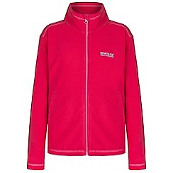 Regatta - Kids Virtual pink kids king full zip fleece