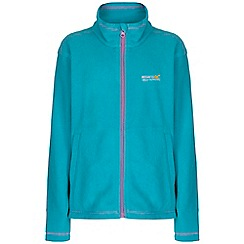 Regatta - Kids Aqua kids king full zip fleece