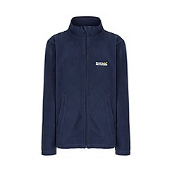 Regatta - Boys Navy blue King full zip fleece