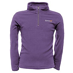 Regatta - Purple heart kids hot shot fleece