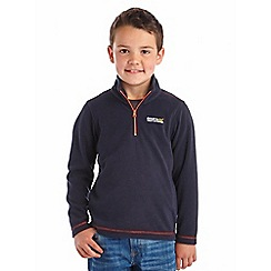 Regatta - Boys Navy kids hot shot fleece