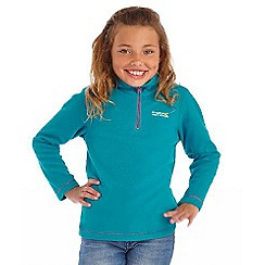 Regatta - Girls Pale pink kids hot shot fleece
