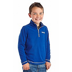 Regatta - Boys Blue surf kids hot shot fleece