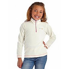 Regatta - Girls Poler bear white kids hot shot fleece