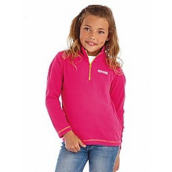 Regatta - Girls Pink kids hot shot fleece