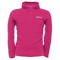 Regatta - Fuschia pink kids hot shot fleece