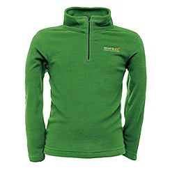 Regatta - Bright green kids hot shot fleece