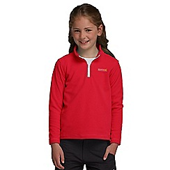 Regatta - Red kids hot shot fleece