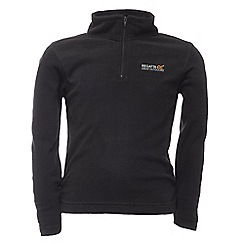 Regatta - Black kids hot shot fleece