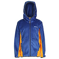 Regatta - Boys Surf blue cuddly hooded fleece