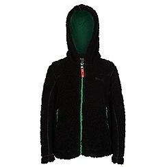 Regatta - Boys Black high roller full zip fleece