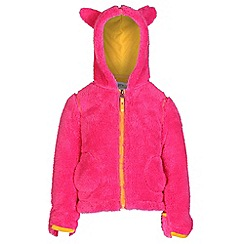 Regatta - Girls Pink cutiepie hodded fleece